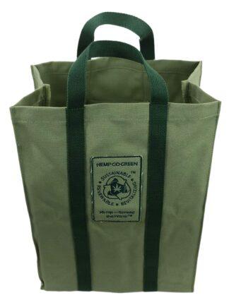 Hemp Go Green 100% HEMP Reusable Shopping Bag