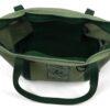 HGG1002 Hemp Go Green 100% Hemp Canvas Heavy-Duty Zippered Tote Bag