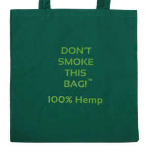 HGG1003-03 Hemp Go Green - Don't Smoke This Tote Bag!