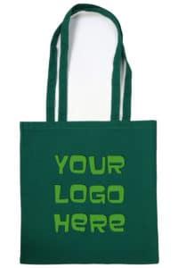 Your Logo Here Cuntom Printed 100% Hemp Tote Bags