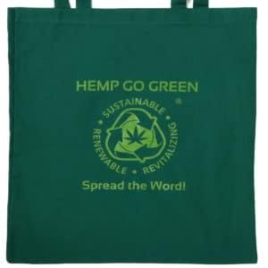 HGG1003 Hemp Go Green Tote Bag with Logo